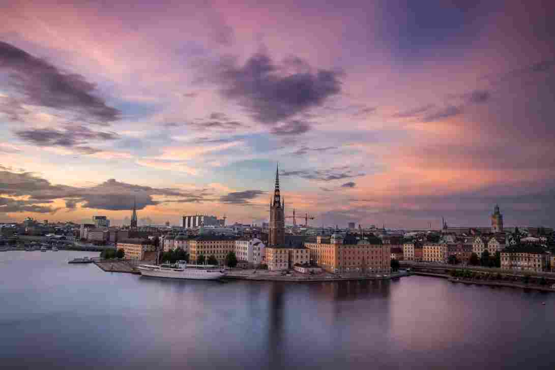 Photo of the city of Stockholm